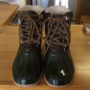 Seven for all mankind duck boots